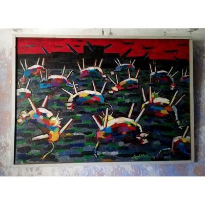 """""""Les abattoirs"""" par Jan Van Holthe"""
