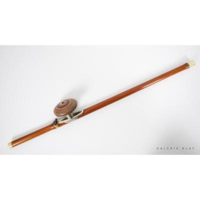 Fine Pipe à Opium En Bambou