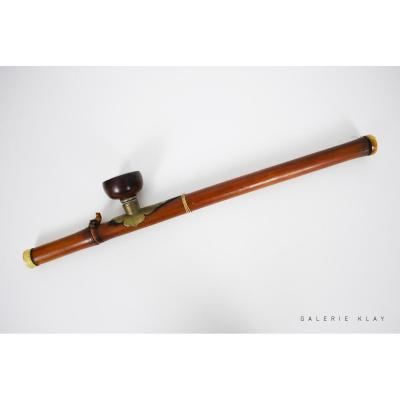Important Opium Bamboo Pipe