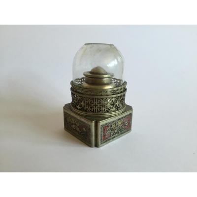 Lampe à Opium En Cloisonné