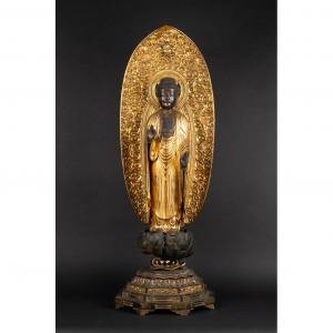 Bouddha Amida, Japon, époque Edo (1603-1868)