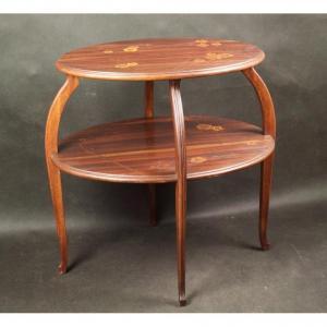 Table, L. Majorelle (1859-1926), Art Nouveau, Nancy
