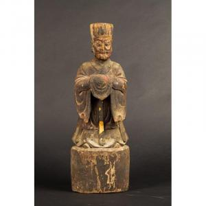 Sage Chinois, Dynastie Qing, 18ème Siècle.