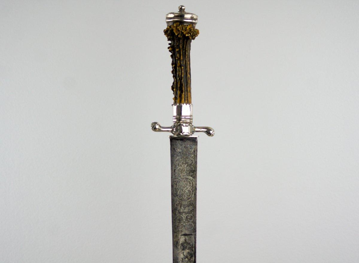 Couteau De Vénerie - Bois De Chevreuil