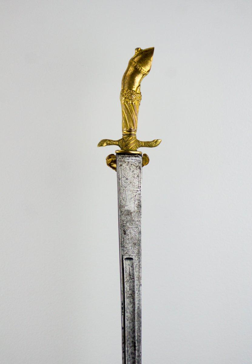 Couteau de vénerie - Pied de cerf