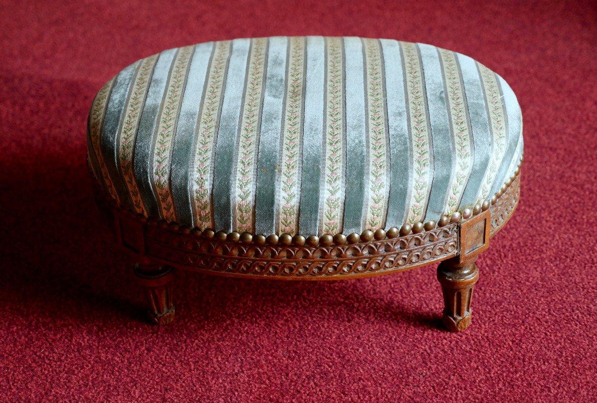 Fauteuil bergère - Epoque Louis XVI-photo-3