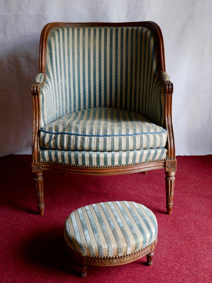 Fauteuil bergère - Epoque Louis XVI