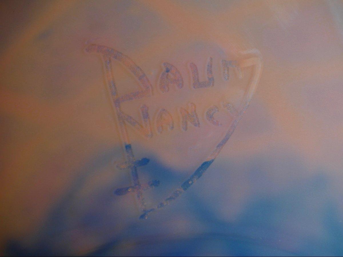 Daum - Vase-Coupe en cristal-photo-4