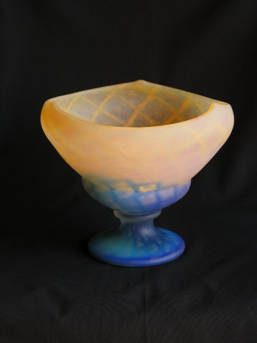 Daum - Vase-Coupe en cristal-photo-1