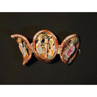 Crucifixion - Sculpture en miniature