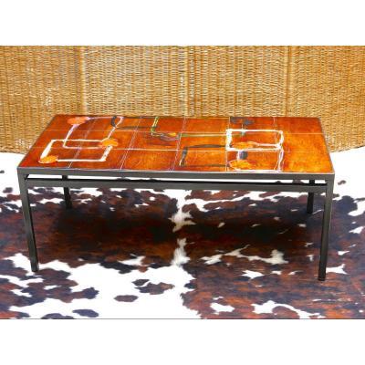 Table basse - Table de salon - Vintage