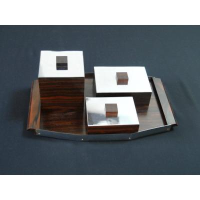 Macassar Smoking Kit - Art Deco