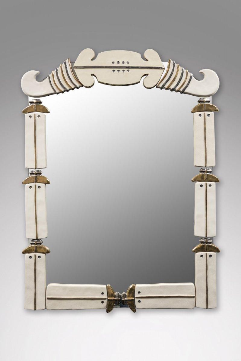 Miroir En Céramique 1960