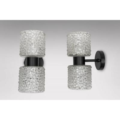 Pair Of Wall Lights 1970
