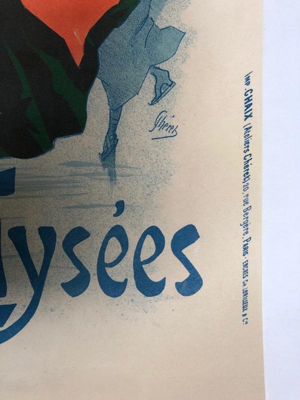 Jules Chéret 1836-1932 Poster Ice Palace Champs Elysées-photo-4