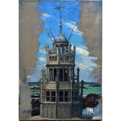 Claire Carpot 1901-1992 Calais The Old English Belfry