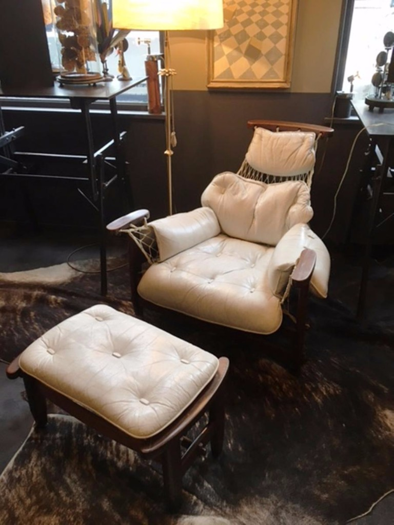 Captain Chair 1962 Et Son Ottoman