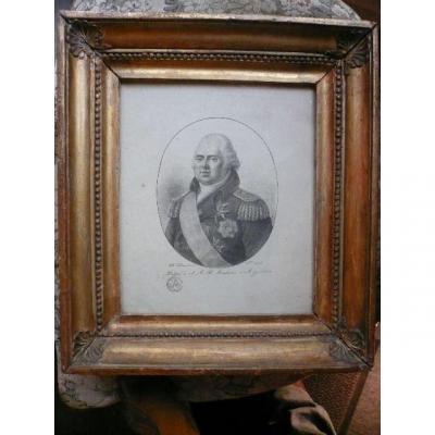 Portrait Of Louis XVIII