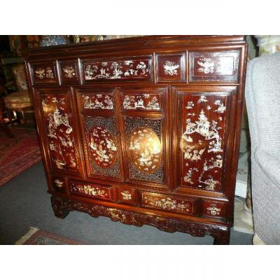19th Century Indochinese Cabinet