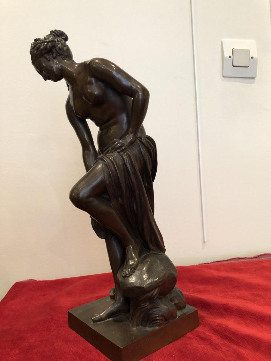 """Bronze De Barbedienne """"venus"""""""