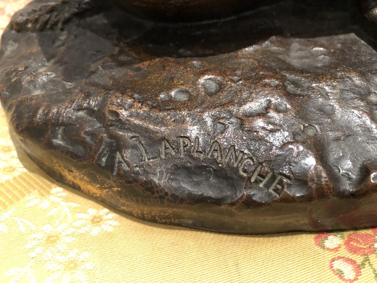 Bronze «PERDREAU» de LAPLANCHE-photo-2
