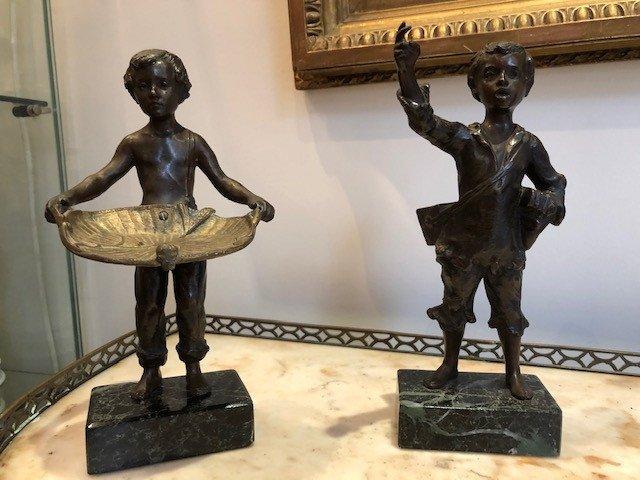 Pair Of Bronzes
