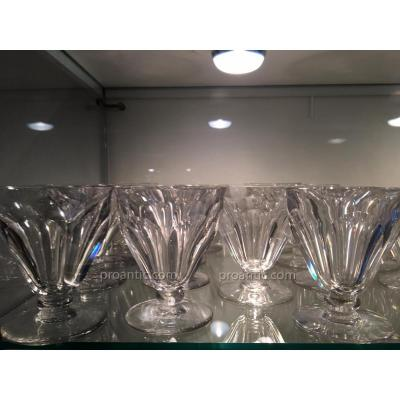 Service En Cristal De Baccarat Modele Talleyrand