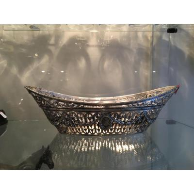 Silver Bread Dish  Weight447gr