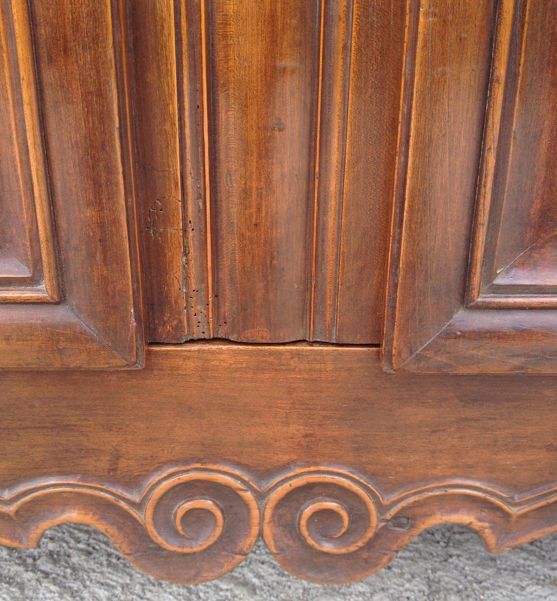 Cherry Sideboard 3 Doors. Central France. 18th Century.-photo-3