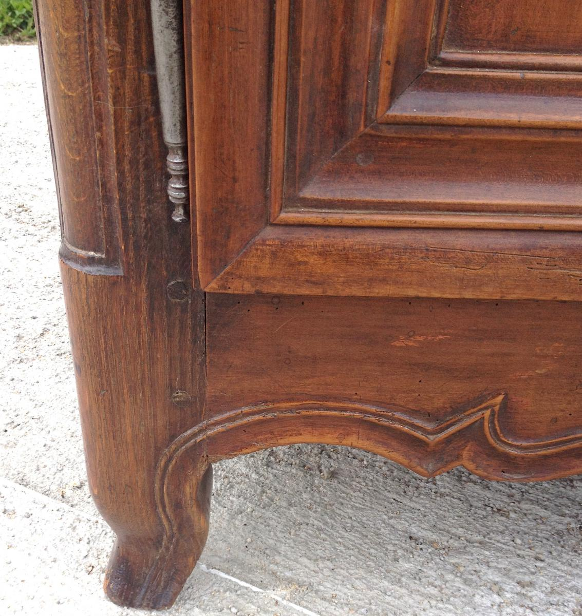 Cherry Sideboard 3 Doors. Central France. 18th Century.-photo-4