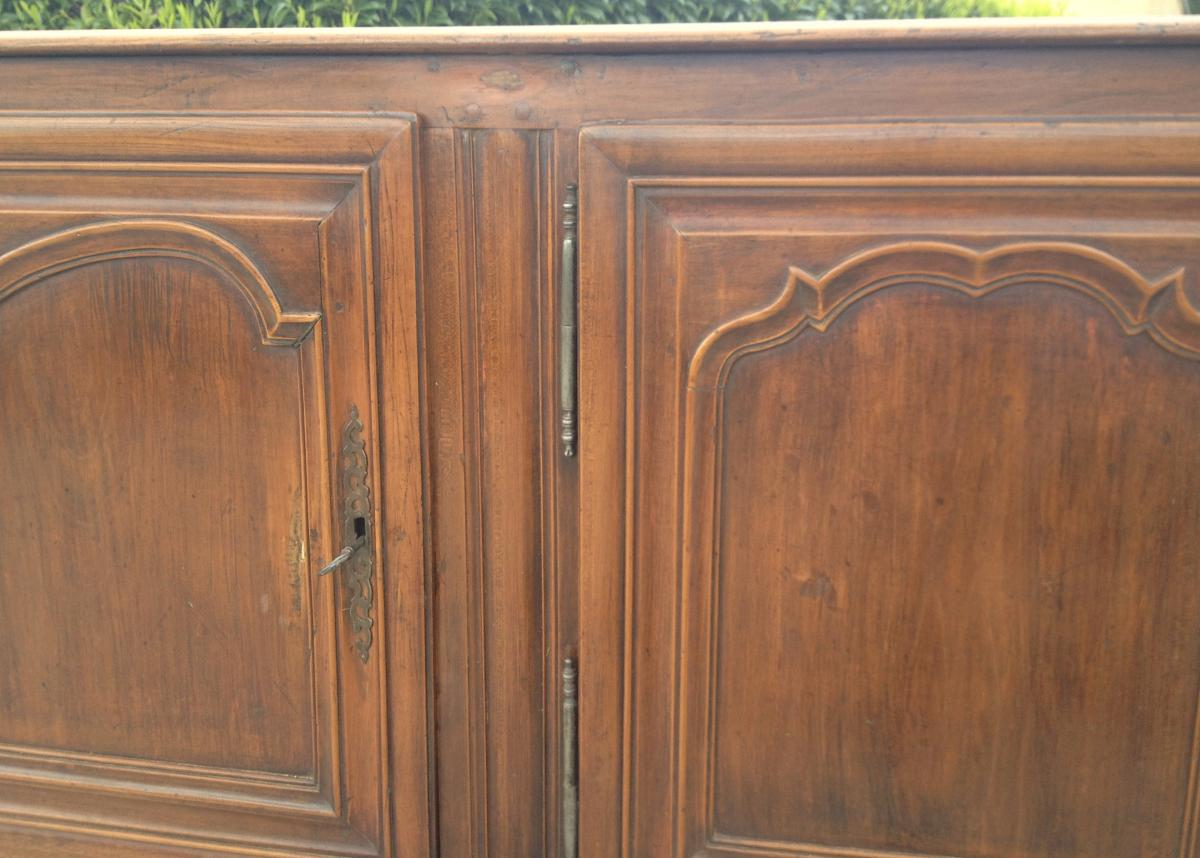 Cherry Sideboard 3 Doors. Central France. 18th Century.-photo-1