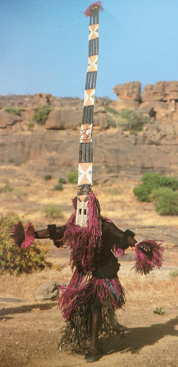 Grand Masque Sirige Dogon, Mali, Afrique. Milieu XXe Siècle. -photo-4