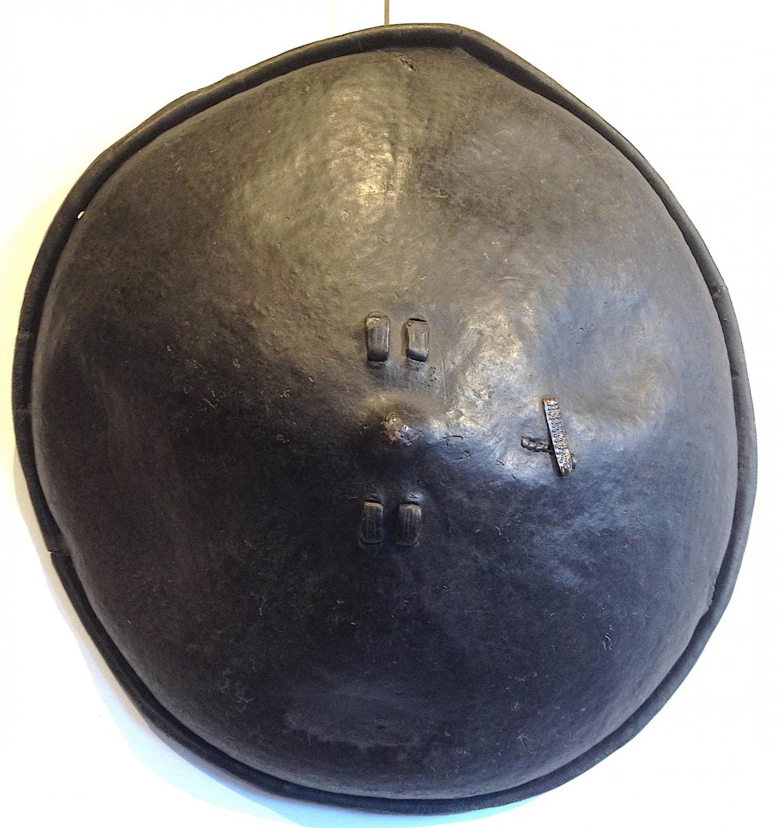 Leather East African Shield, Ethiopia Middle 20th Century