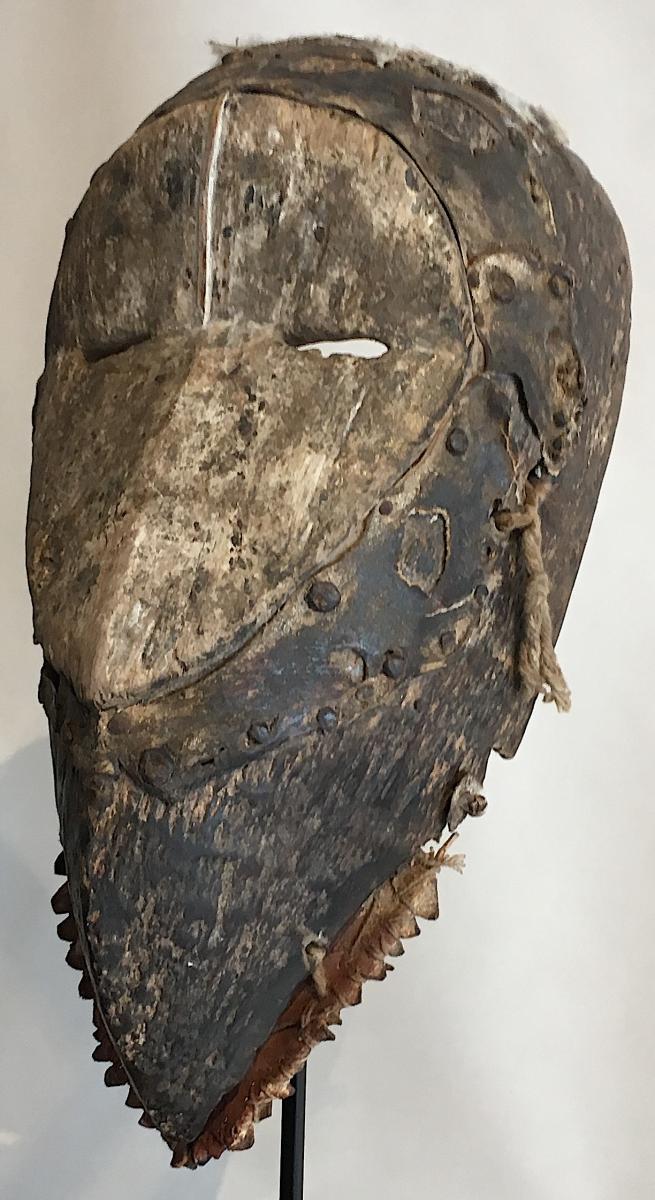 Masque Dan Guéré Wé. Afrique De l'Ouest, Côte d'Ivoire. Milieu XXe Siècle. -photo-2