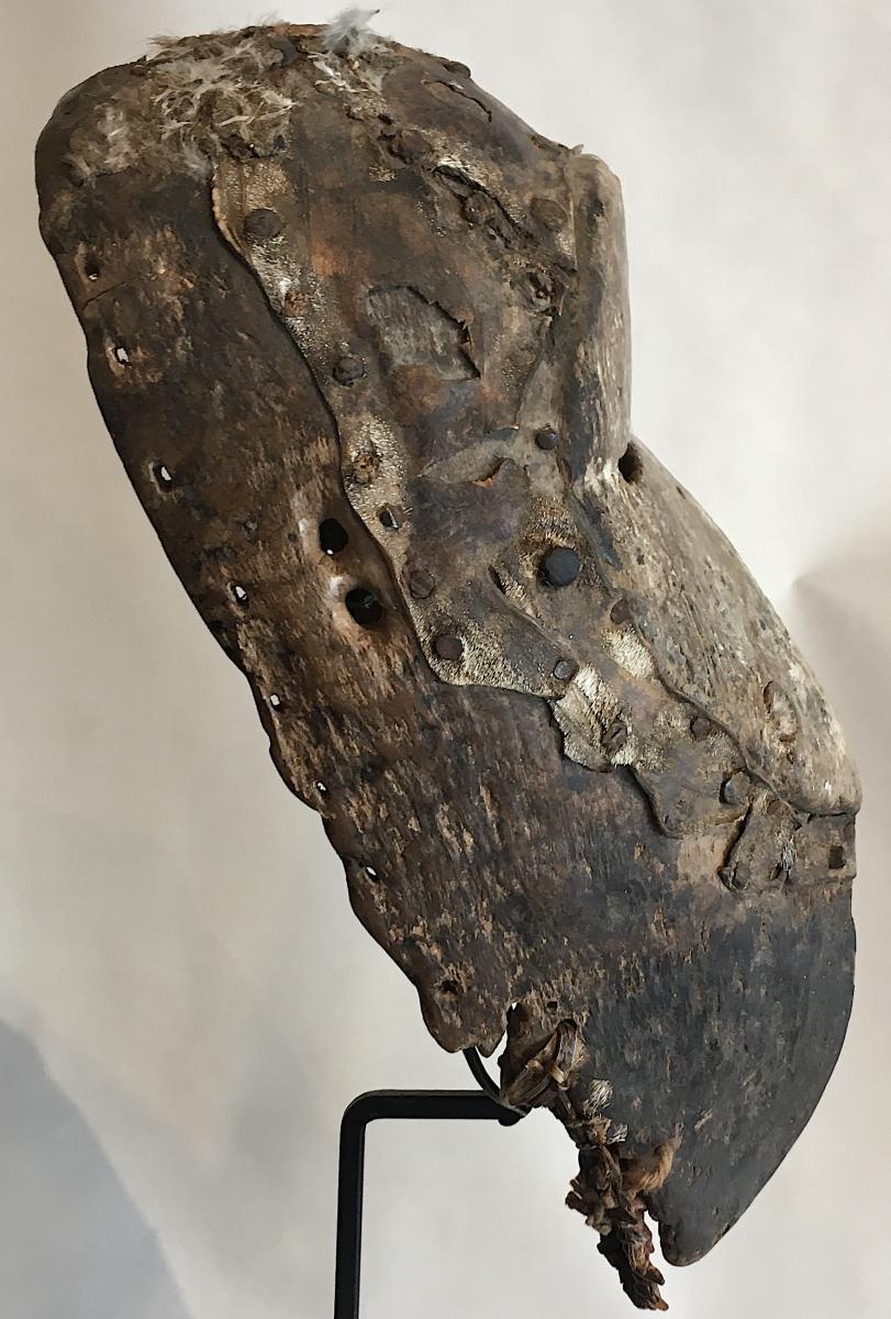 Masque Dan Guéré Wé. Afrique De l'Ouest, Côte d'Ivoire. Milieu XXe Siècle. -photo-3
