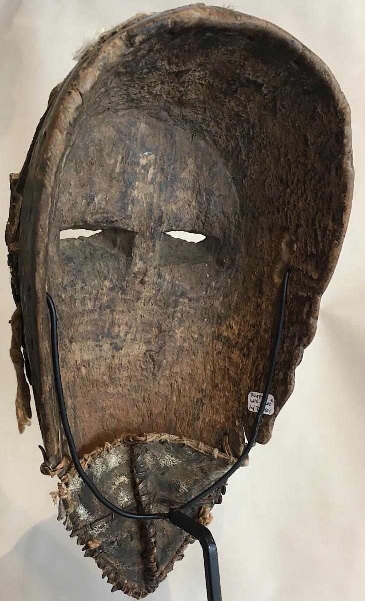 Masque Dan Guéré Wé. Afrique De l'Ouest, Côte d'Ivoire. Milieu XXe Siècle. -photo-4