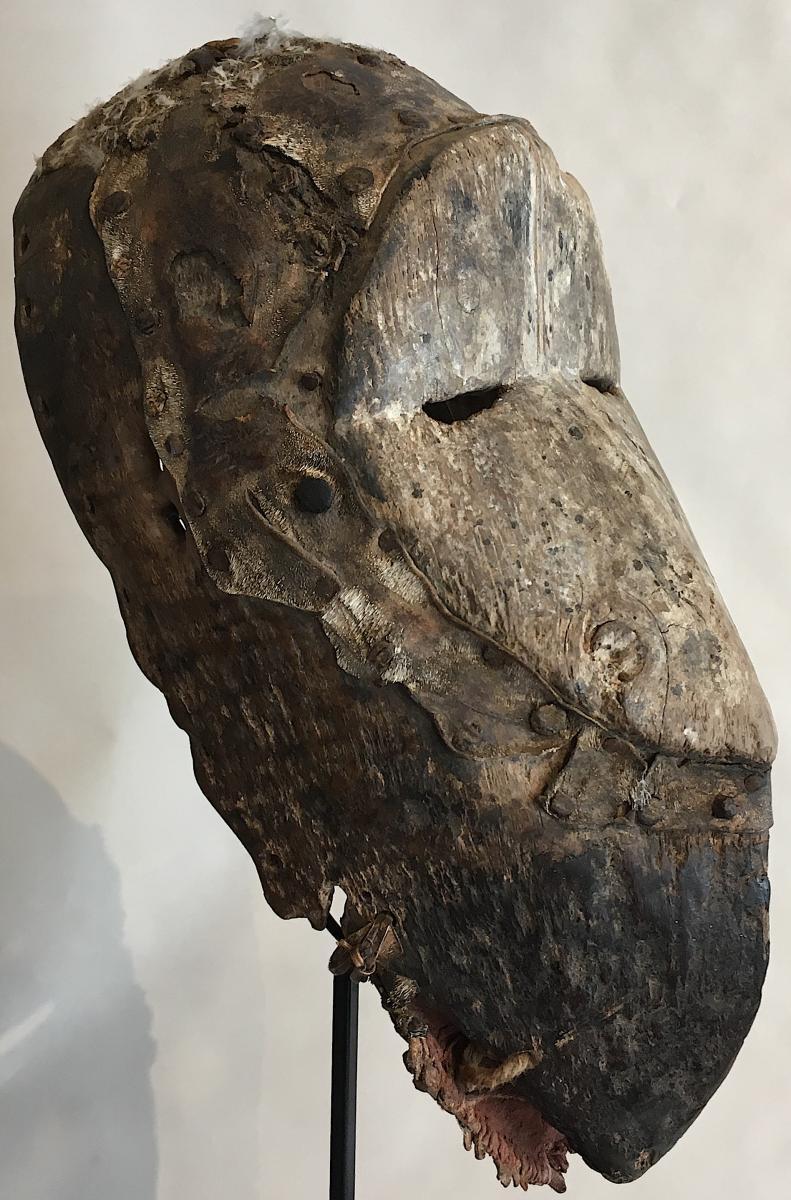 Masque Dan Guéré Wé. Afrique De l'Ouest, Côte d'Ivoire. Milieu XXe Siècle. -photo-6