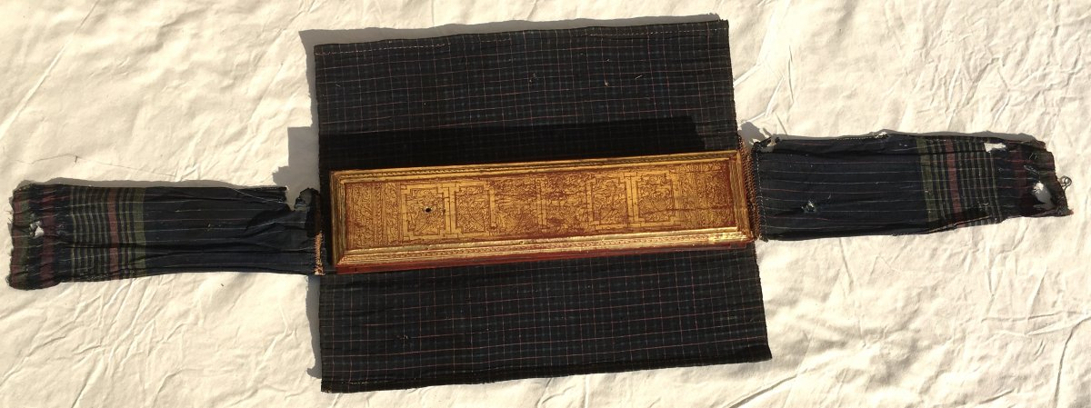 Rare Prayer Book Kamawa Sa. Burma Myanmar, Early 20th Century.-photo-4