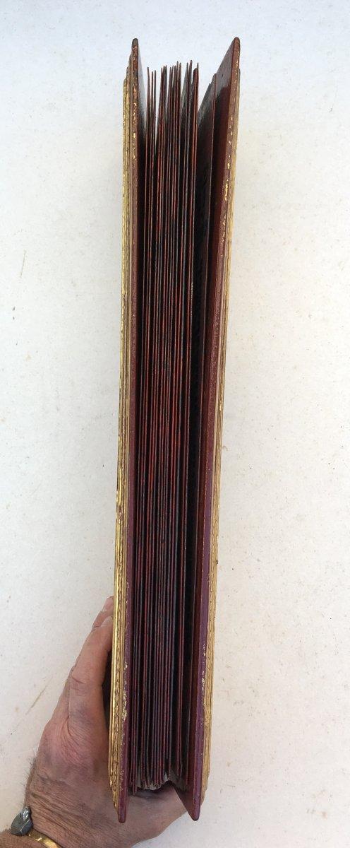 Rare Prayer Book Kamawa Sa. Burma Myanmar, Early 20th Century.-photo-7