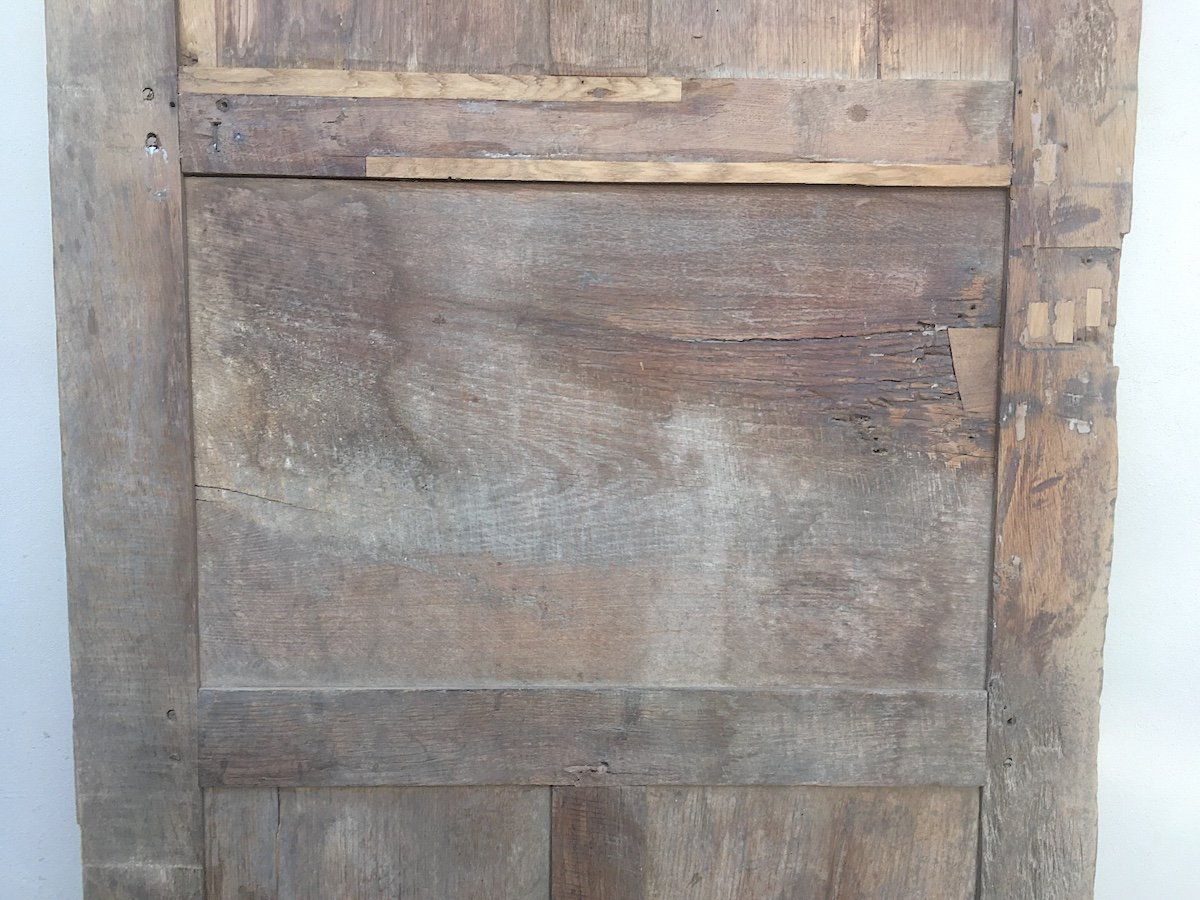 Porte En Chêne Louis XIV. France Fin XVIIe Siècle. -photo-4
