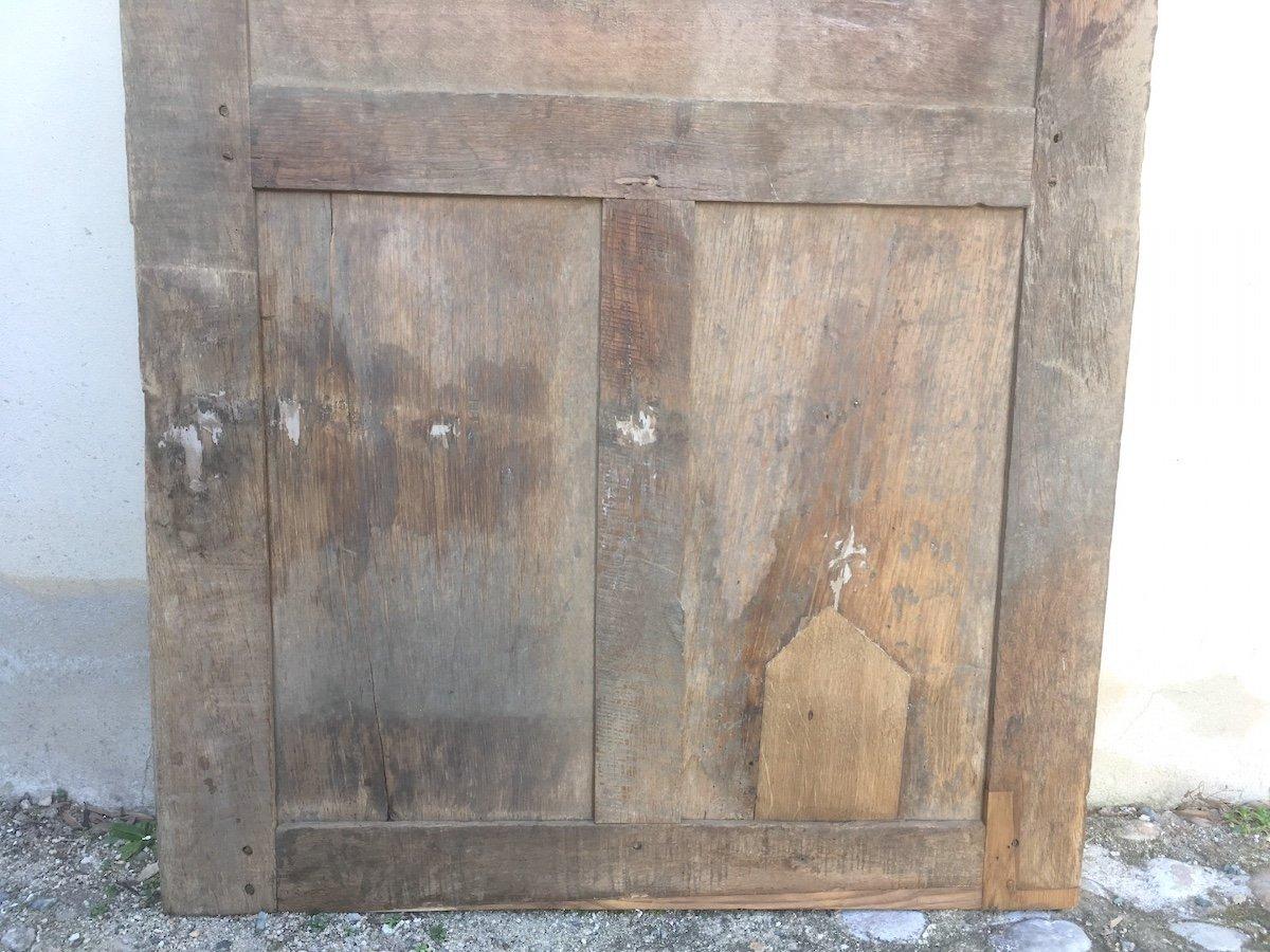 Porte En Chêne Louis XIV. France Fin XVIIe Siècle. -photo-5