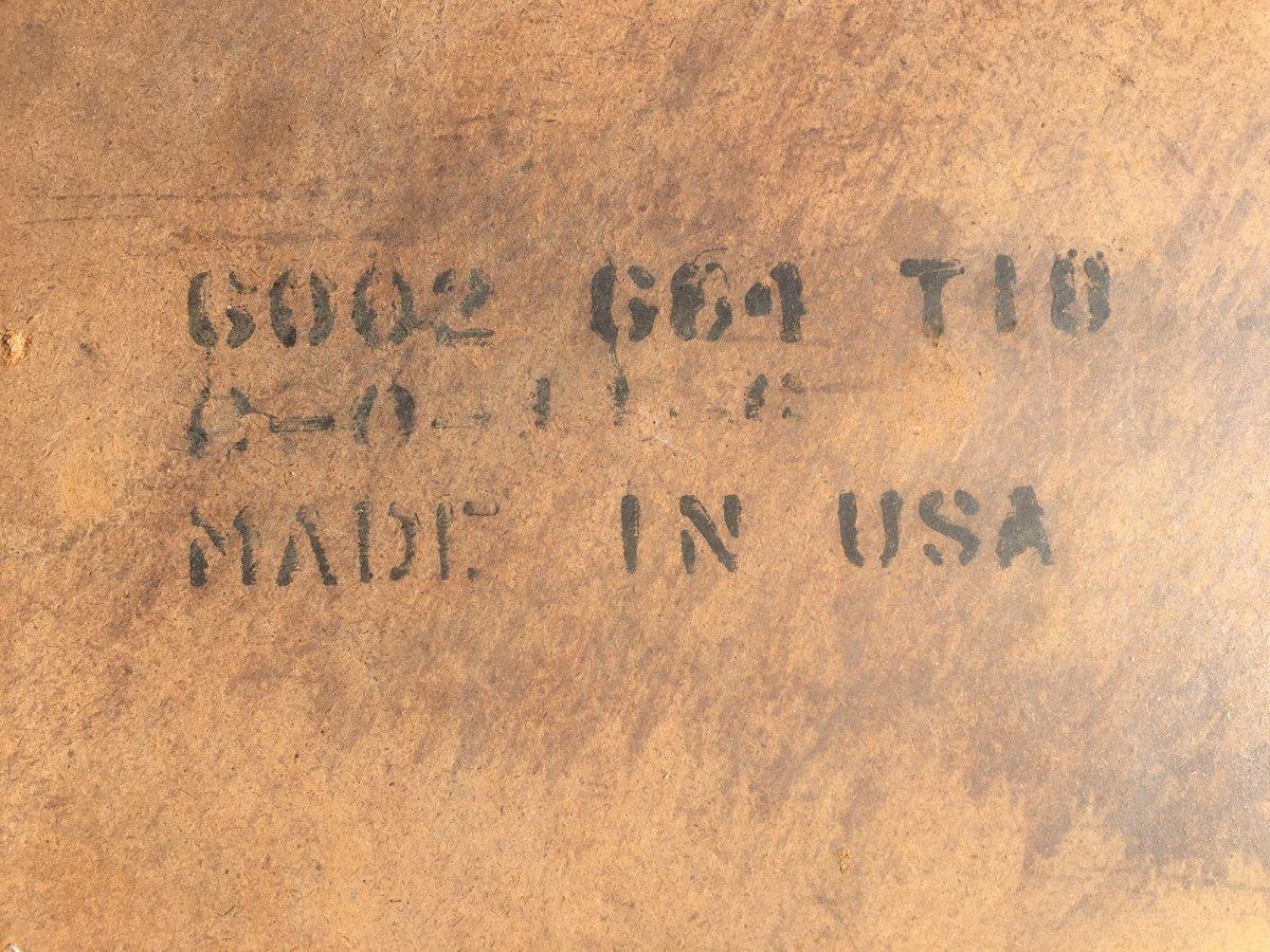 Paire De Tables Basses Américaines En Bois Et Rotin. Usa Début XXe Siècle. -photo-4