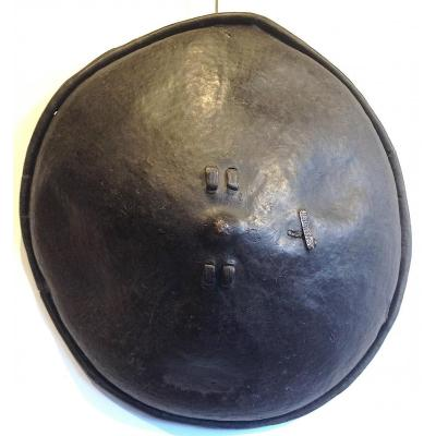 Leather East African Shield, Ethiopia Middle 20th Century.