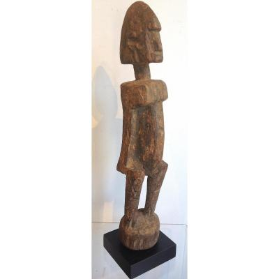 Ritual West Africa Dogon Statue. Mali. Early 20th Century.