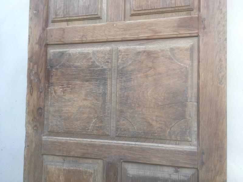 Porte En Chêne Louis XIV. France Fin XVIIe Siècle. -photo-2