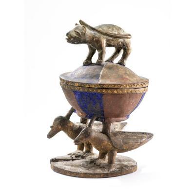Yoruba divination recipient