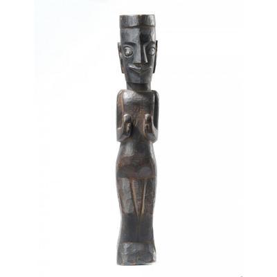 Indonesia, Sumatra, Batak, Pagar Statue