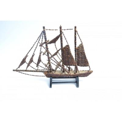 Moluccan, Boat Made Of Cloves