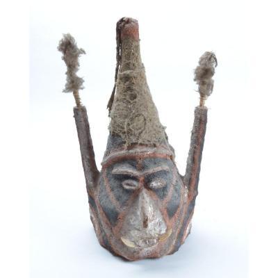 Vanuatu, Malekula, Masque De Casque