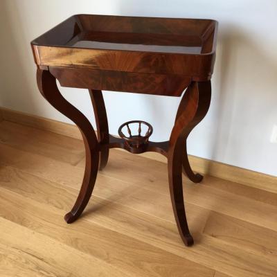 meuble de salon ,bout de canapé plateau cuvette XIXème